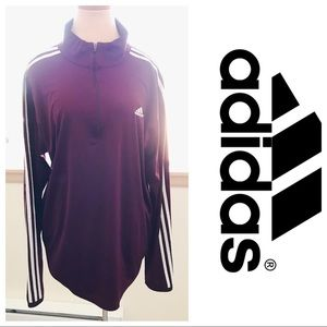 Adidas Quarter Zip Sweatshirt Size XL